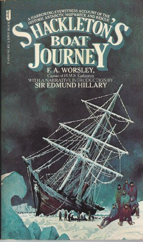 9780515044867: Shackleton's Boat Journey : The Narrative from the Captain of the 'Endurance'
