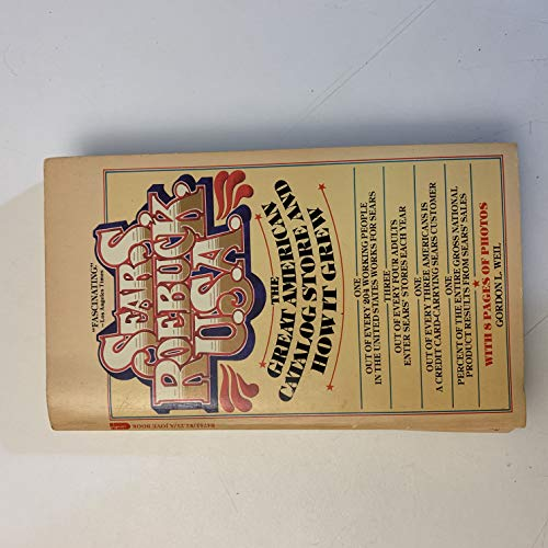 9780515047837: Sears, Roebuck, U.S.A: The great American catalog store and how it grew