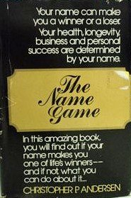 9780515048575: The Name Game
