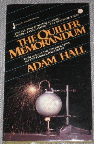 9780515052114: The Quiller Memorandum
