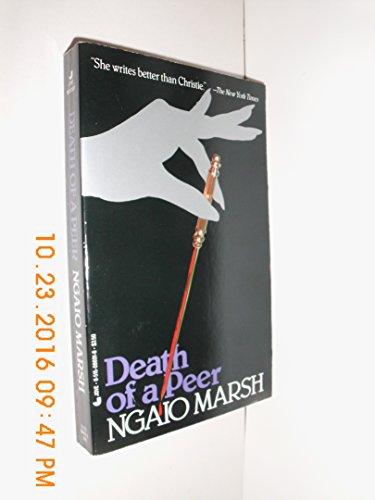 9780515054132: Death Of A Peer