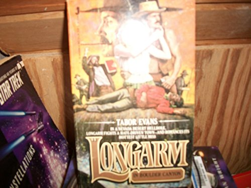 Longarm in Boulder Canyon (Longarm #44) (0515056006) by Tabor Evans