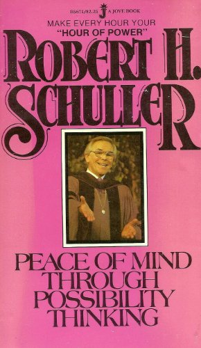 Peace Mind/poss Think (9780515056716) by Robert Schuller
