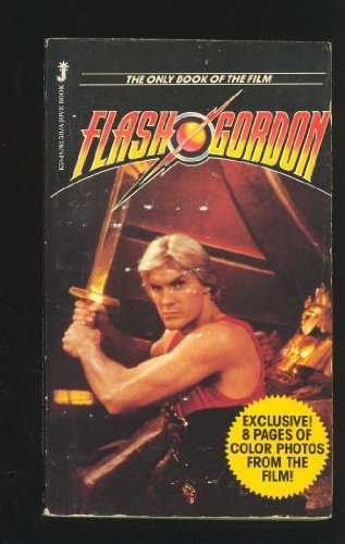 FLASH GORDON (Novelization / Book of the: Cover, Arthur Byron