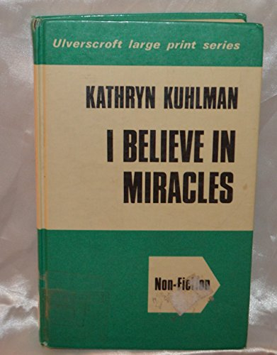 9780515058581: I Believe in Miracles