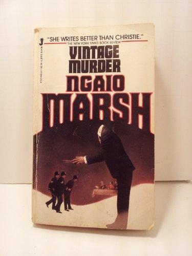 Vintage Murder: Marsh, Ngaio
