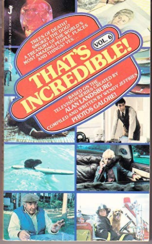 9780515061734: That's Incredible! Vol. 6