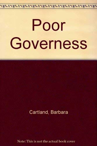 9780515062939: Poor Governess
