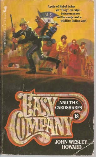 EASY COMPANY (Book #18) . AND THE CARDSHARPS. ( Lt. Matt Kincaid & His Indian Fighters)