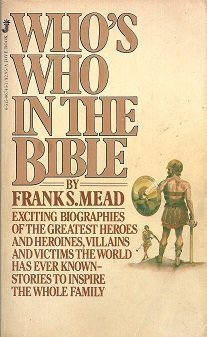 9780515067439: Who's Who in the Bible