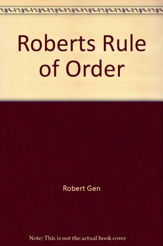 9780515078893: Robert's Rules of Order