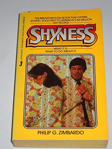 9780515080926: Shyness