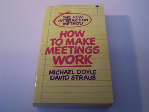 9780515081008: Title: How to Make Meetings Work