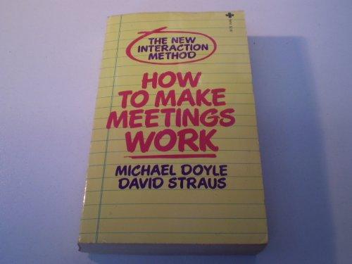 9780515081008: How to Make Meetings Work