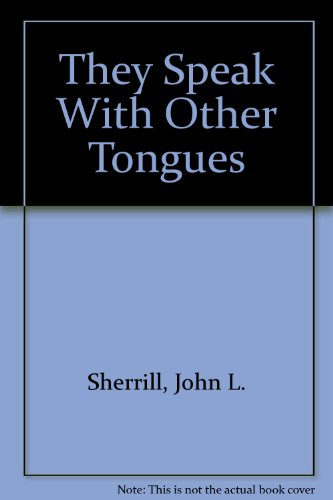 9780515081541: They Speak with Other Tongues