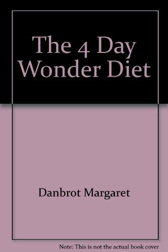 9780515085631: 4-day Wonder Diet