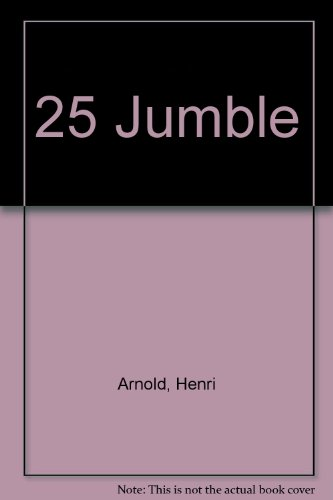 Jumble Book 25: Arnold, Henri, Lee, Bob