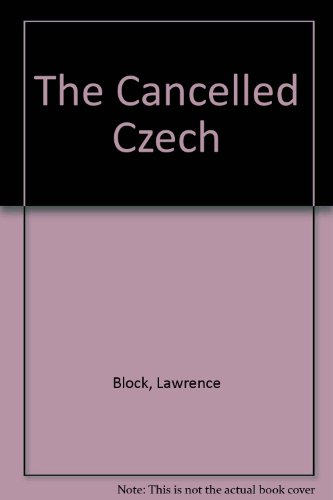 9780515086898: Cancelled Czech