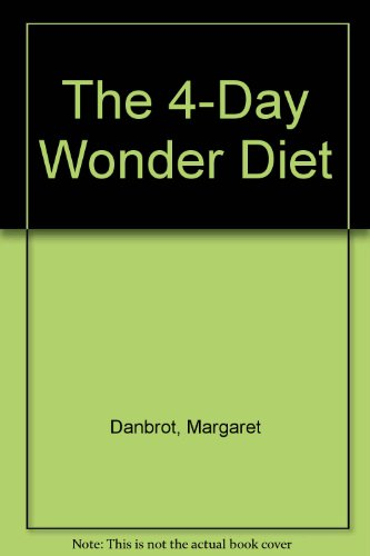 9780515094633: 4-day Wonder Diet