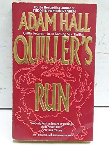 9780515095401: Quiller's Run