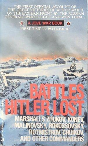 9780515096439: Battles Hitler Lost