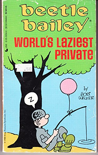 9780515101348: Beetle Bailey: World's Laziest Private
