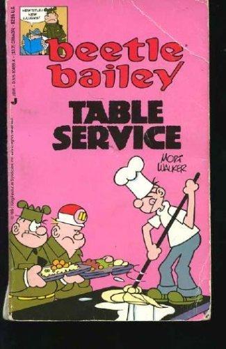 9780515104998: Beetle Bailey: Table Service