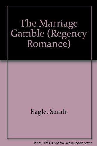 9780515107500: Marriage Gamble (Regency Romance)