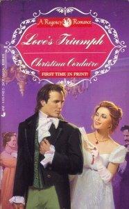 9780515111026: Love's Triumph (A Regency Romance)