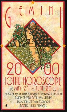 Gemini 2000 Total Horoscopes: May 21 -: Jove, Jove Books