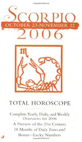 9780515139150: Scorpio (Total Horoscopes 2006)
