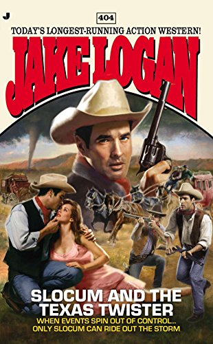 Slocum and the Texas Twister (Paperback): Jake Logan