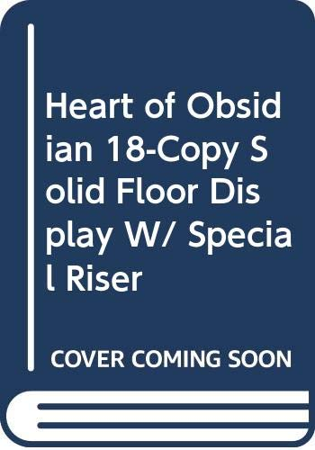 9780515154719: Heart of Obsidian 18-Copy Solid Floor Display W/ Special Riser