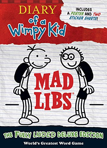 9780515158304: Diary of a Wimpy Kid Mad Libs: The Fully Löded Deluxe Edition
