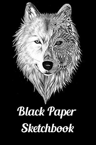 9780515838572: Black Paper Sketchbook: 120 Pages of Black Blank Paper for Doodling and Drawing with White Ink, Gel Pens, Chalk Markers for Spirograph & More (Spirograph Paper Pad)