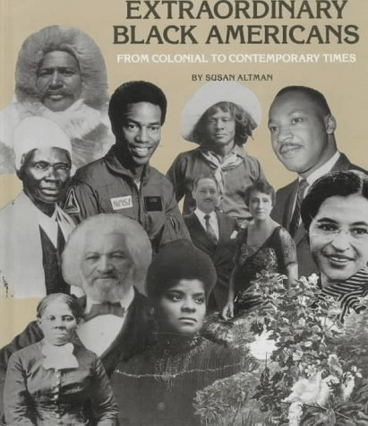 9780516005812: Extraordinary Black Americans: From Colonial to Contemporary Times (Black Studies)