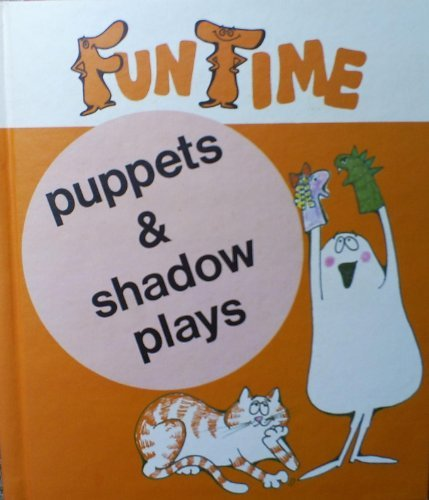 Puppets & shadow plays (0516013084) by Yerian, Cameron