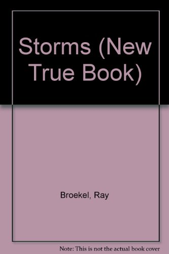 9780516016542: Storms (New True Book)