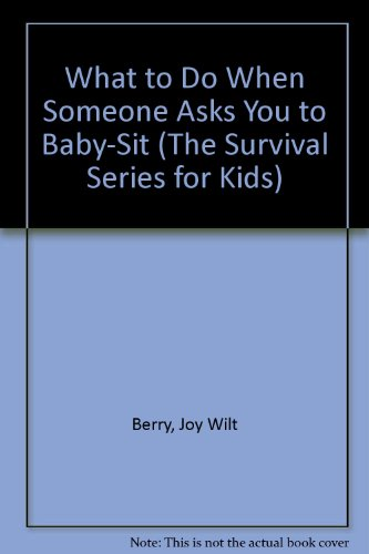 What to Do When Someone Asks You: Joy Wilt Berry;