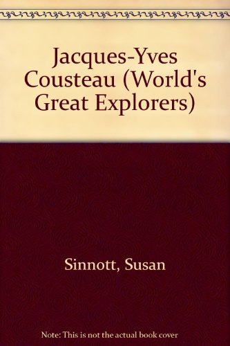 9780516030692: Jacques-Yves Cousteau (World's Great Explorers)