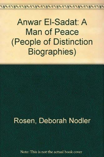 9780516032146: Anwar El-Sadat: A Man of Peace (People of Distinction Biographies)