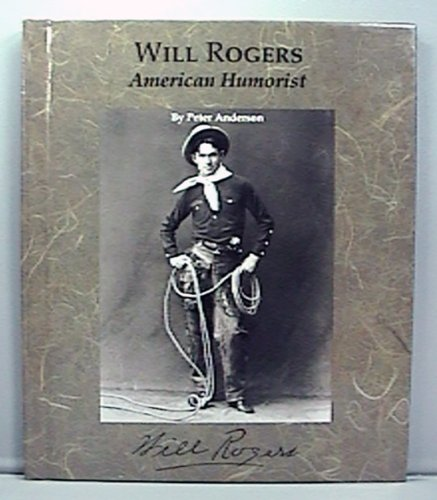 9780516041834: Will Rogers: American Humorist (Picture Story Biography)
