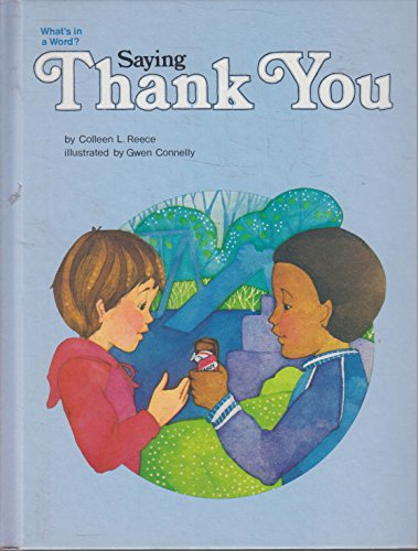Saying Thank You (051606326X) by Reece, Colleen L.