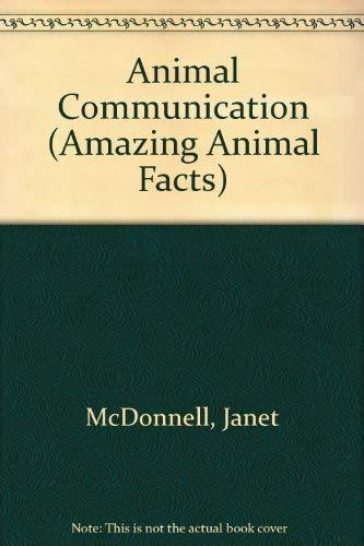 9780516063881: Animal Communication