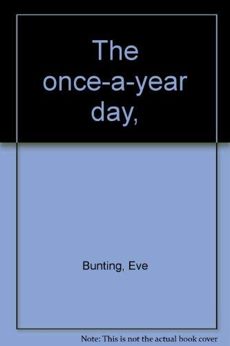 9780516088396: The Once-a-Year Day