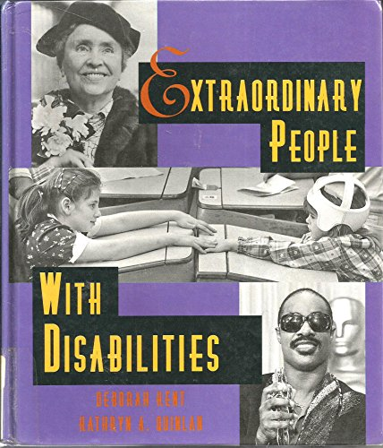 9780516200217: Extraordinary People With Disabilities