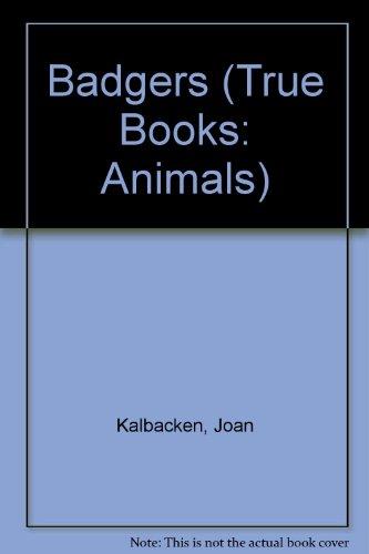 9780516201573: Badgers (True Books: Animals)