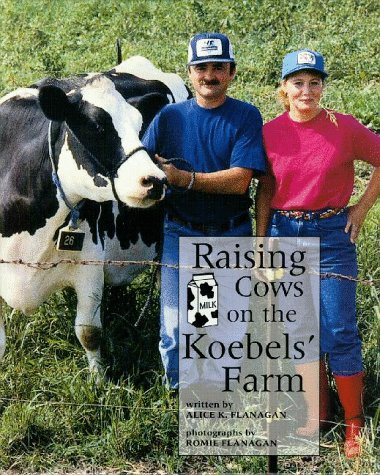 9780516211336: Raising Cows on the Koebels' Farm (Our Neighborhood)