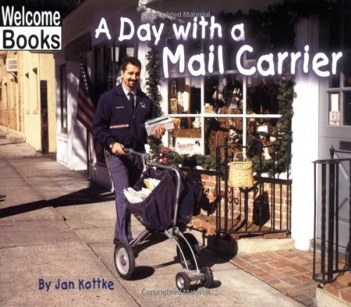 9780516230153: A Day with a Mail Carrier (Hard Work)