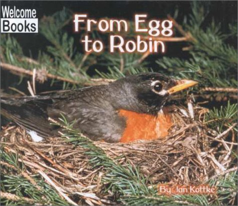 From Egg to Robin (Welcome Books: How Things Grow): Jan Kottke